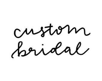 Custom Bridal | Bridal, Bridesmaid, Mother-of-the-Bride Jewelry