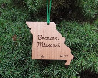 Missouri State Ornament