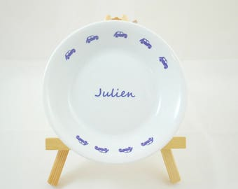 Custom soup plate modern cars