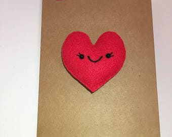 Heart Magnet Card (I give you my heart)