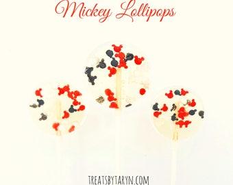 Mickey candy lollipops. Lollipops. Mickey treats. Mickey pops. Candy lollipops. Birthday lollipops. mickey favors. mickey desserts. mickey