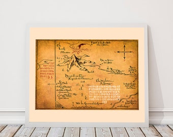 Tolkien map middle earth map the lord of the rings the lord