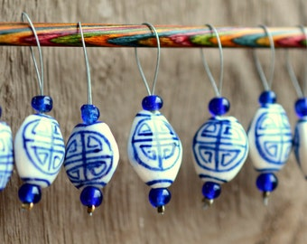 Oolong Tea Snagless Stitch markers