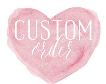 Custom Crib Quilt for Lauren