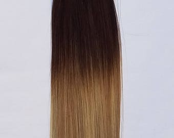 """18"""" Ombre BALAYAGE 100grs,100s,I Tip (Stick Tip) Fusion Keratin Pre Bonded Remy Human Hair Extensions # T2-18/613"""
