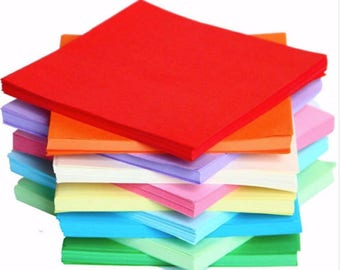 sizes to choose from 520 or 100 sheets of origami paper