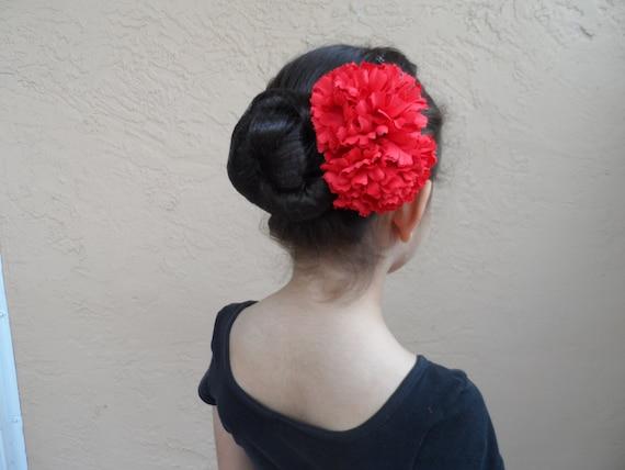 Ausverkauf Spanische Flamenco-Nelken-Kopfstück Ballett