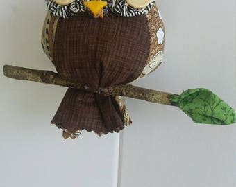 Stuffed Owl Ornament