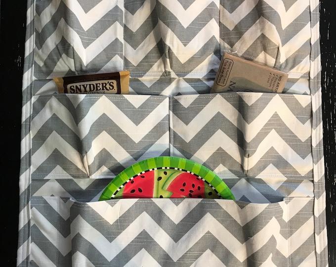 Hanging Storage Organizer with Pockets for RV // Camper // Home // Kitchen // Dorm Room // Hanging Organizer // You Choose Width