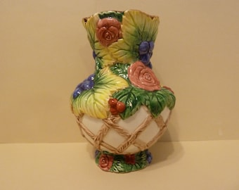 Fitz & Floyd Vase, Circa 1994