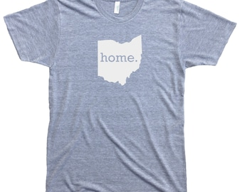 Homeland Tees Men's Ohio Home T-Shirt