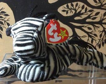 Ty Beanie Baby retired, Ziggy the zebra #4063