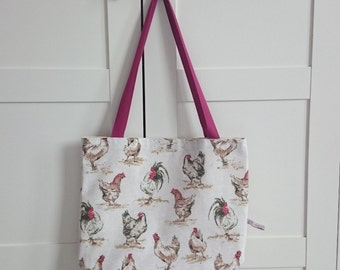 Chicken Soft Tote Bag