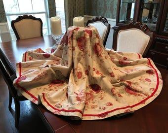 The Christmas Rose Christmas Tree Skirt - 69 Inches