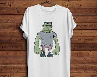 Frankenstein T divertida Camiseta Tee | Cómic (hombres y mujeres T shirts)