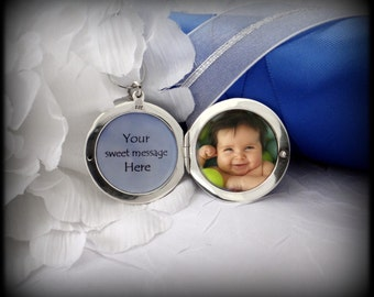 Locket in Sterling Silver 2 Photo Locket