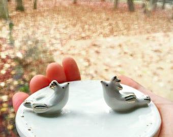 Wedding Gift Bird Lover Gift Couple Trinket Dish Lovebird Wedding Ring Dish Gift Bridal Shower Anniversary Gift Bird Ring Dish