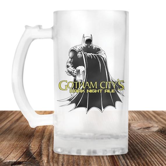 Batman Beer Stein - Batman Beer Mug - Gotham City-  Perfect Gift For Batman Lover-Craft Beer Mug -Beer Mug -Beer Lover Gift -Beer Lover Gift