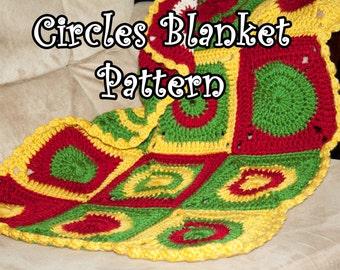 Circles Baby Blanket Pattern