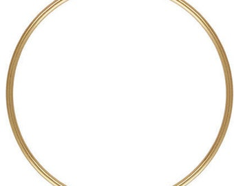 14k Gold Filled 1.25x38mm Endless Hoop (GP-4011740)