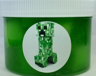 Creeper Slime Inspired by Minecraft