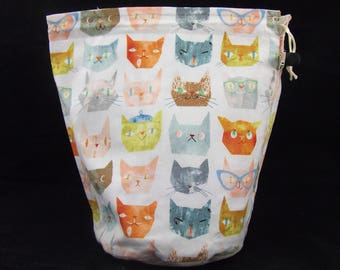 R/M/S/W Clever Cats project bag