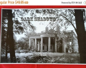 """July 4th Sale Dark Shadows Blueprint Set ~ 41 Blueprints Copies Spiral Bound in 11"""" x 17"""" Book-Great Book to Have For A Halloween Party!!!"""