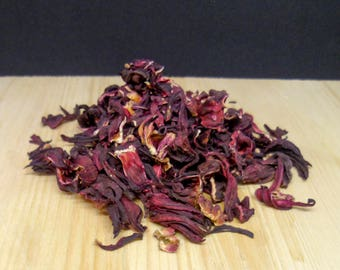 Hibiscus Flower - vegetal dye - 100gr / 3,5 oz