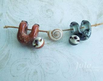 Sloth, Sloth bead, European bead, Pandora charm