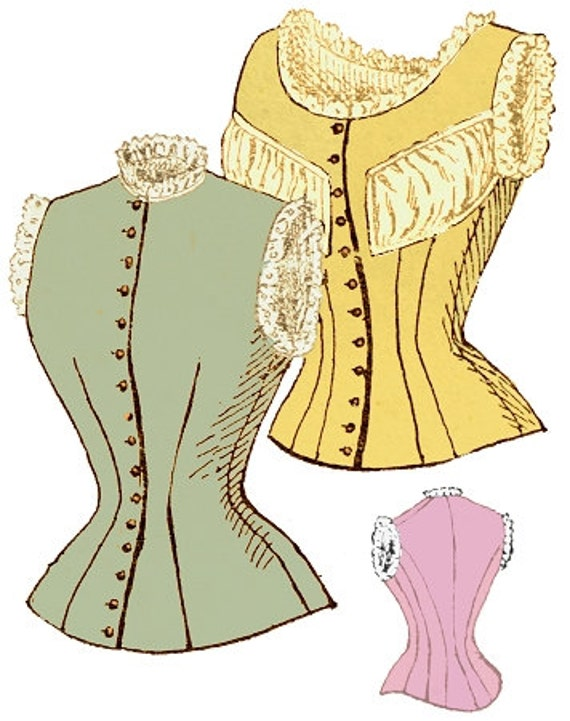 Victorian Lingerie – Underwear, Petticoat, Bloomers, Chemise 1897 Ladies Corset Cover with Optional Puff - Reproduction Sewing Pattern #E07071897 Ladies Corset Cover with Optional Puff - Reproduction Sewing Pattern #E0707 $12.00 AT vintagedancer.com