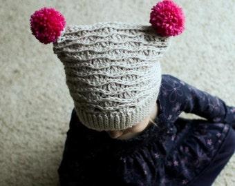 Crochet Hat Pattern - Tessa Hat (Baby-Adult Sizes)