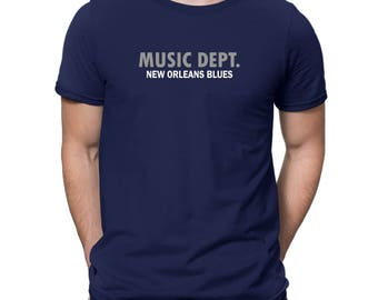 Music Dept New Orleans Blues T-Shirt
