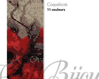 Poppies II - PATTERN