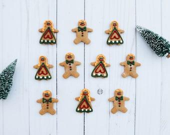 Christmas Cookies - Mini Gingerbread Men