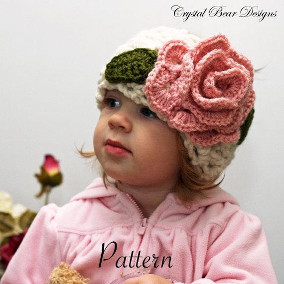 Ear Warmer Headband CROCHET PATTERN, Neck Warmer with Flower, Girls ...