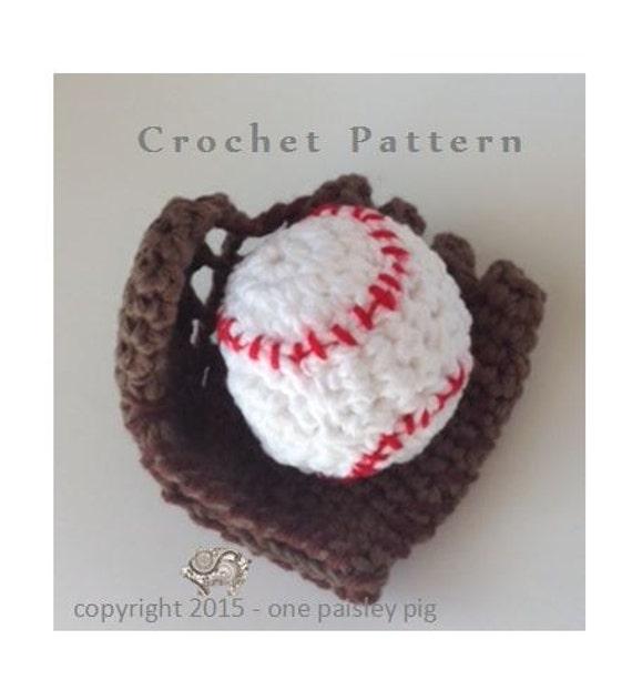 Baby S First Baseball Amp Glove Pdf Crochet Pattern