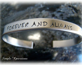 Personalized 16g Stainless Steel Cuff Bracelet with Names