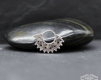 Septum piercing, indian Septum ring, septum jewelry, nose ring septum, nose piercing