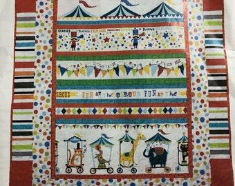 Circus Parade Quilt Kit Michael Miller