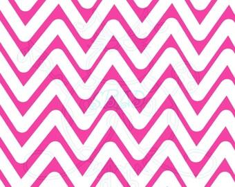 Pink White Chevron Digital Paper Hand Drawn Instant Download Digital Artwork patterned lines children backgrounds backdrops printable papers