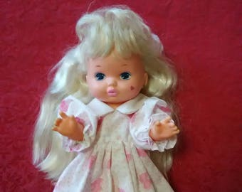 Vintage doll. 1988 Little Miss Make Up