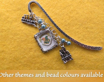 Wizard  beaded bookmark with the theme (and bead colour) of your choice.
