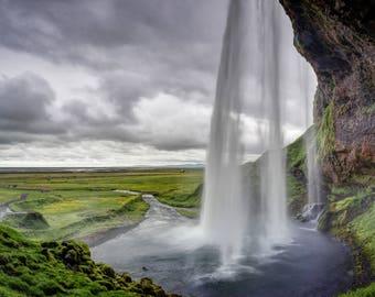 "Fine Art Photography, Iceland - ""Seljalandsfoss"""