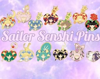 Sailor Senshi Enamel Pins *Pre-order*