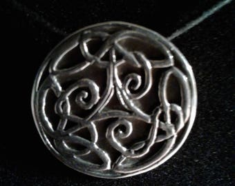 Sterling Silver Celtic charm (09)