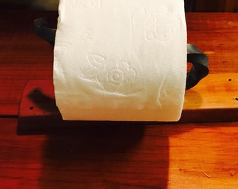 Toilet Paper Holder Hand forged