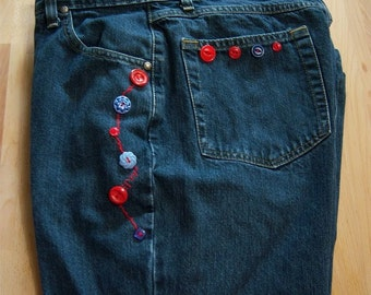 In-Jeanious Altered Wrangler Jeans size 13/14
