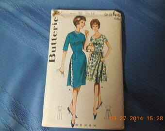 Butterick pattern #2246 for ladies size 12 dress pattern.