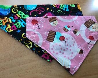 Birthday Sweets Pet Bandana