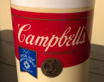 Vintage 1984 Sarajevo Olympic Campbell's Soup Thermos